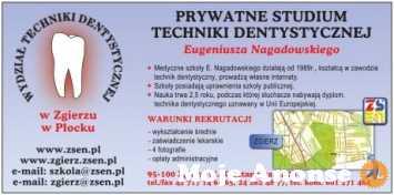 Uzyskaj poszukiwany zawód technik dentystyczny, wpisowe 0 zł