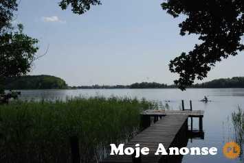 Całoroczny domek nad jeziorem  W Ińskich Parkach Krajobrazowych
