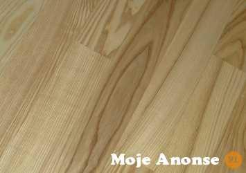 Deska podłogowa lita Jesion kl RU 1200x90x15mm