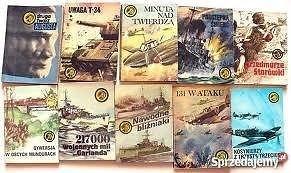 Sprzedam 42 szt Ksiażki seria Tygrys II wojna światowa Okazja