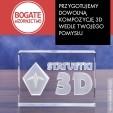 Statuetki na zamówienie - grawerowanie laserem 3D w szkle
