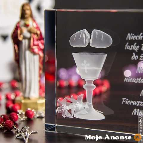 Personalizowana pamiątka Komunii Świętej