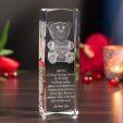 Piękny prezent na urodziny – Kryształ 3D z misiem!