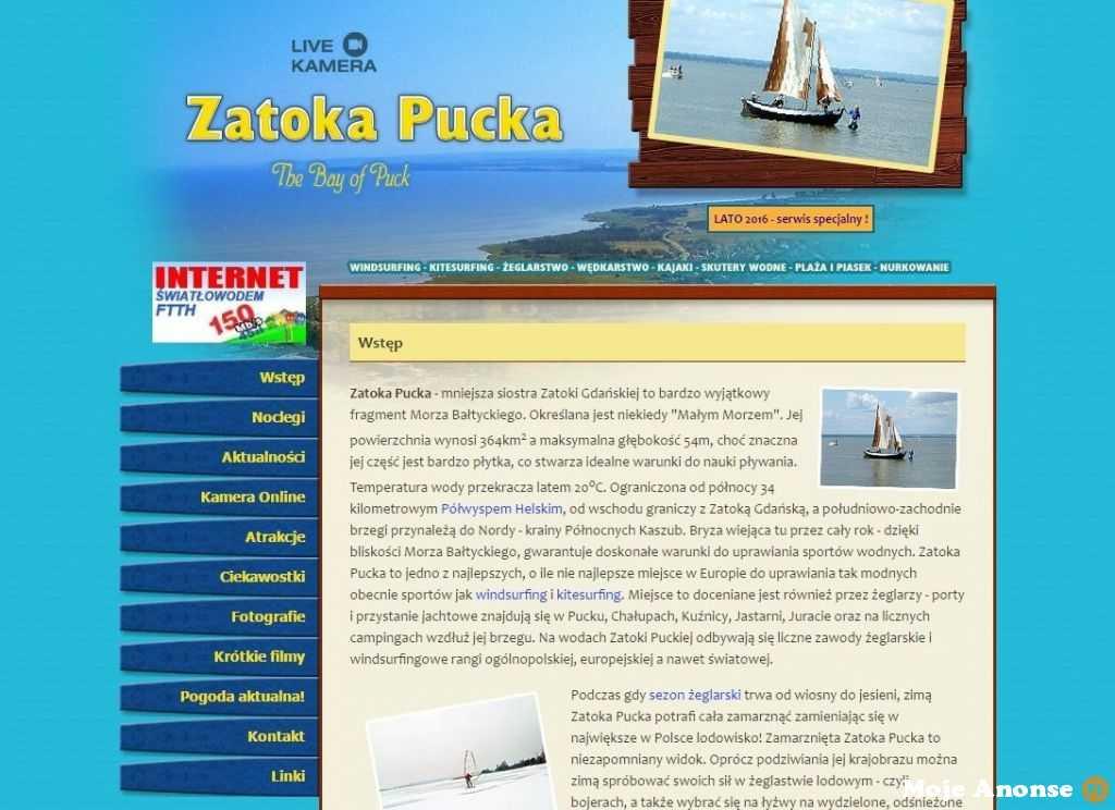 Noclegi nad morzem - Zatoka Pucka Serwis Turystyczny