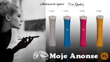 Na prezent - Oryginalna zapalniczka Pierre Cardin Mademoiselle