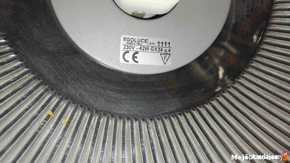 Sprzedam okazyjnie 8 Lamp Wiszących Italy EGO LUCE 1111 Fluo