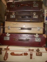 Sprzedam Przedwojenne markowe walizki Renomowanych firm Echt,Madl