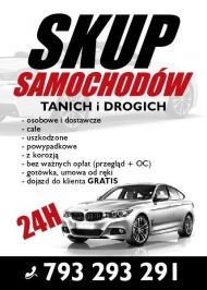 Profesjonalny skup samochodów osobowych i dostawczych