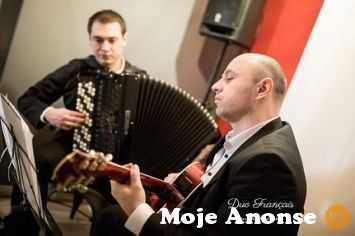 Duet francuski - elegancka oprawa muzyczna