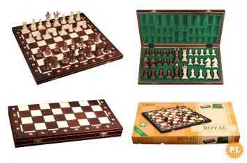 Wysokiej jakości szachy drewniane polskiej produkcji