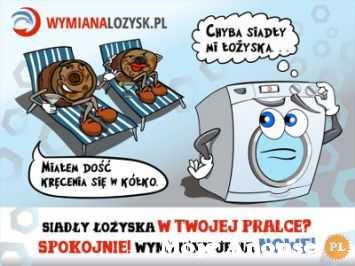 Wymiana łożysk Zbiornik klejony Wanna kompletna pralki