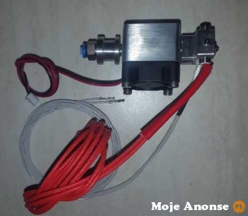 Głowica 1.75 MK8 MKV Wade E3D drukarka 3D J-Head Bowden ekstruder