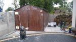 garaż 3x5, dach dwuspadowy