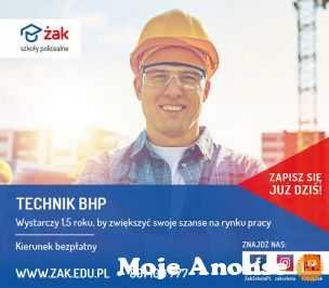 Technik BHP - zupełnie za darmo!!!