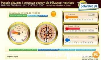 Pogoda nad morzem, prognoza dla Władysławowa i Półwyspu Helskiego