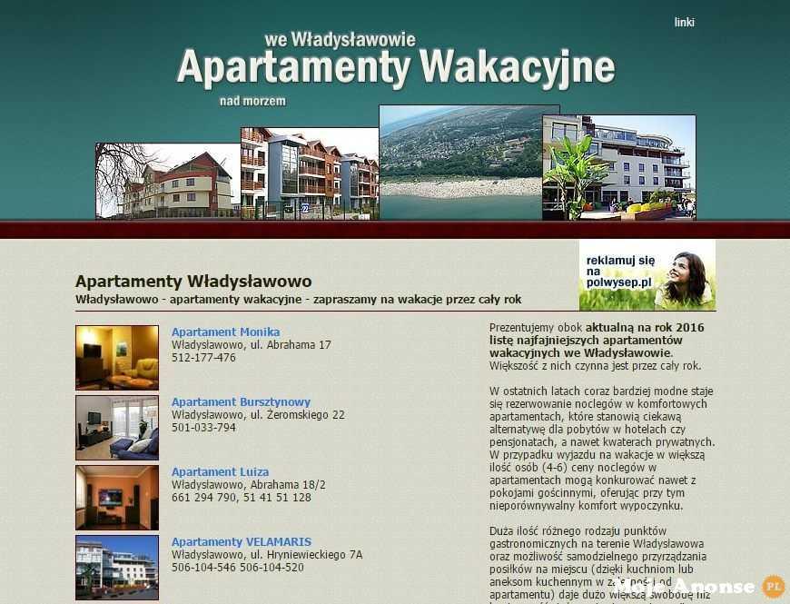 Apartamenty Władysławowo – Idealne na rodzinne wakacje
