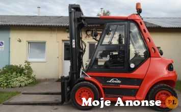 Wózek widłowy Linde H80D 353 CargoLifts