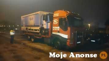 Auto holowanie pojazdów osobowych, dostawczych, ciężarowych - Poz