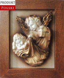 Obraz z Aniołem Stróżem na Chrzest komunię z twoją dedykacją