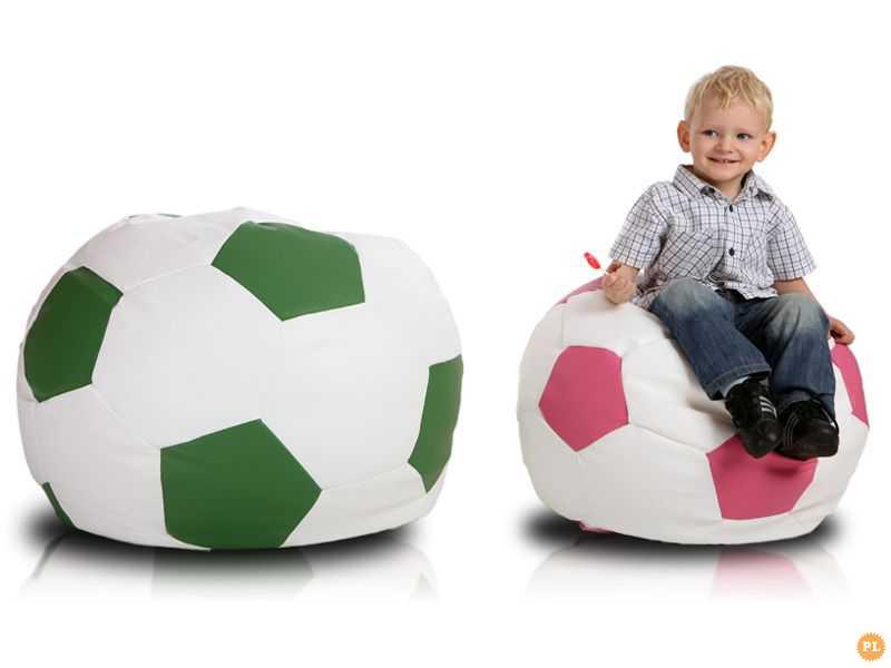 Pufa Piłka Nożna S Kolorowy Fotel Kibica Worek Sako Dla Dzieci