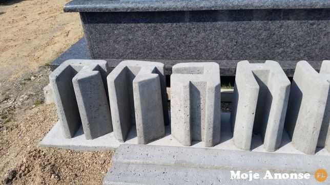 Systemowe ogrodzenia betonowe, podmurówki - producent