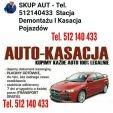Auto skup - Auto kasacja złomowanie pojazdów  Tel 512140433