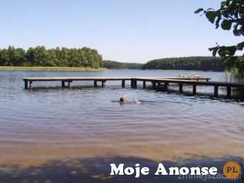 BORY TUCHOLSKIE -jeziora - tani nocleg na Kociweiu