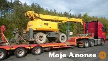 Transport maszyn rolniczych i budowlanych Pomoc drogowa Głogów