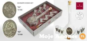 Zestaw komplet 15168 alkohol wódkę prezent rocznicę jubileusz