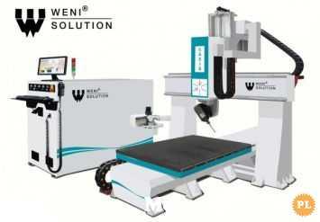 Weni WSE08 - Frezarka - 5 osiowa CNC Ploter CNC frezujący graw 5