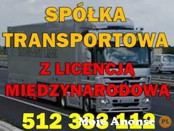 Sprzedam gotową spółkę z licencją transportową EU + PL