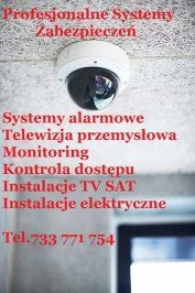 Montaż systemów alarmowych i monitoringu Szczecin