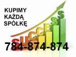 Przejmiemy udziały w spółce. Tel. 784 874 874