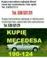 Mercedes Auto może być bez opłat, całe, uszkodzone...
