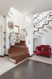 Montaż schodów wewnętrznych - drewnianych