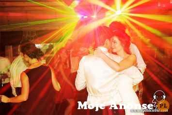 DJ na WESELE, imprezę z nagłośnieniem, oświetleniem