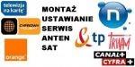 Serwis 24H montaż ustawienie anten satelitarnych i DVB-t