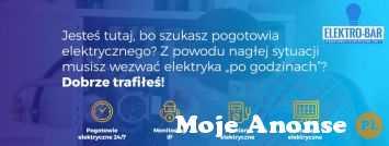 Elektro-Bar - pogotowie elektryczne z Krakowa