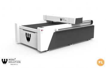 Ploter Laserowy Co2 WS-1325B 100W cięcie mat.niemetalowych, Weni