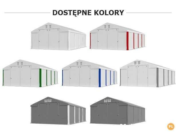 Namiot zimowy POLAR PLUS IFR 5m x 6m x 3,5/4,41m Poszycie FR