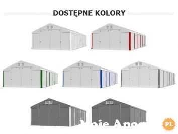 Namiot zimowy POLAR PLUS IFR 5m x 6m x 4/4,91m Poszycie FR