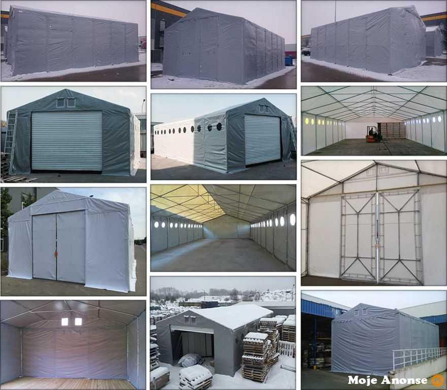 Hala namiotowa całoroczna namiot cateringowy 6x10 x 2,5m
