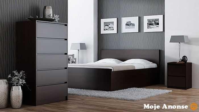Nowoczesne szafki nocne do sypialni - sprawdź Edinos