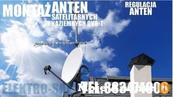 Montaż anten, ustawienie anteny Nowogard