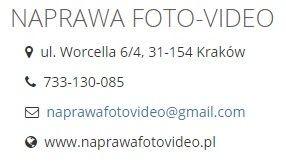 NAPRAWA APARATÓW KAMER SAMSUNG Kraków