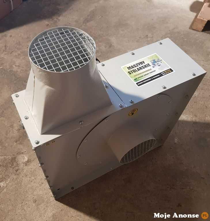 Wentylator promieniowy FAN1500