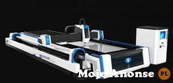Laser Fibrowy 3015AM 1000W cięcie rur i blach