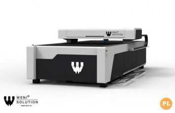 Laser Co2 150W 1530BM do arkuszy metalu i tworzyw