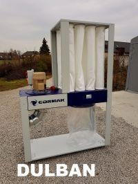 Odciąg do pyłów i wiórów drzewnych CORMAK DCV4500 Eco