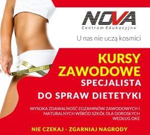 Policealna Szkoła Lublin ROCZNY KURS DIETETYKA